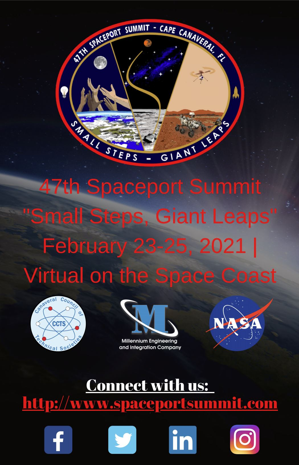 2021 Spaceport Summit Flyer