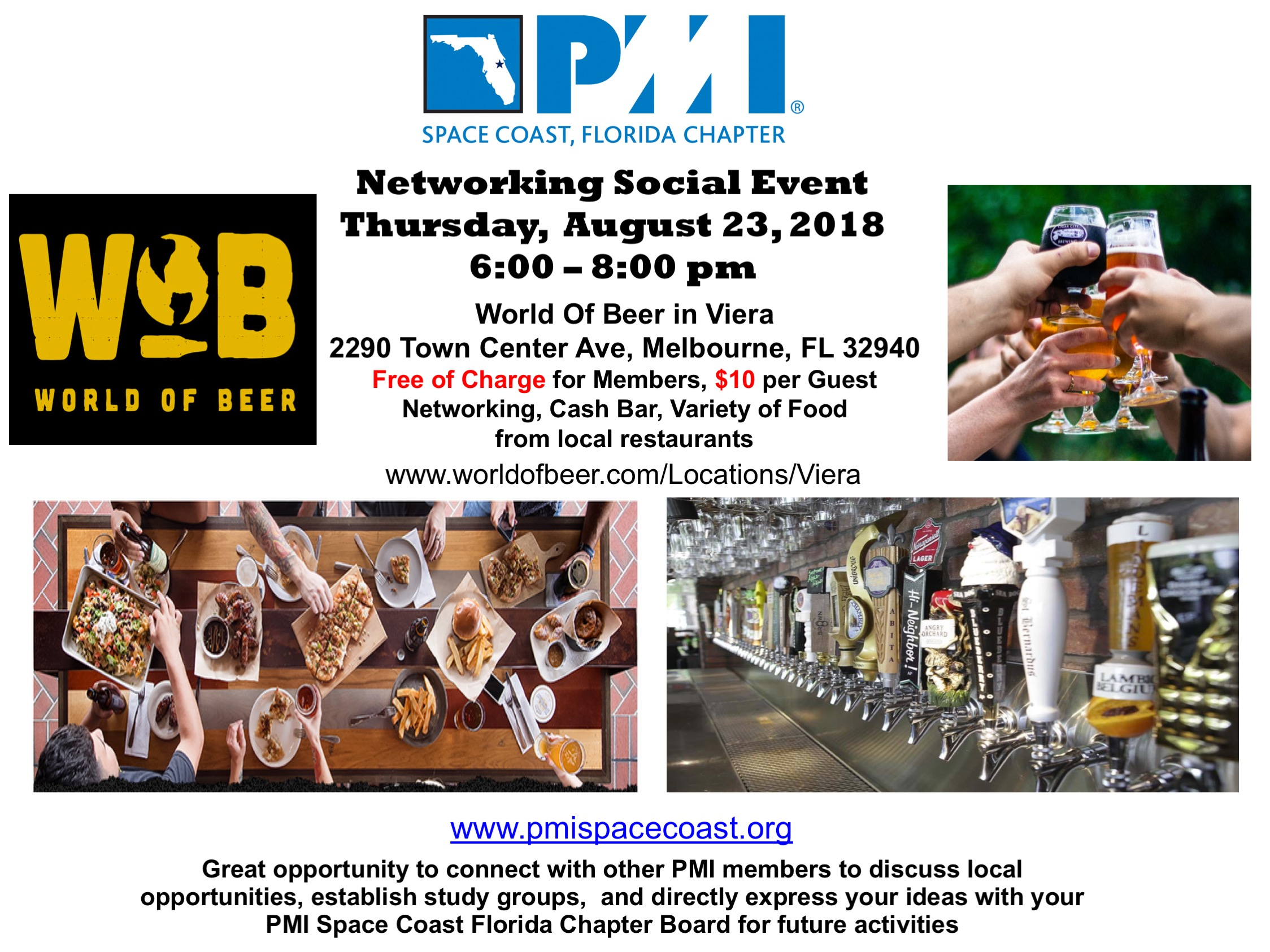 Networking Social Flyer August 2018 1