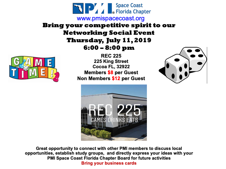 Networking Social Flyer July 2019